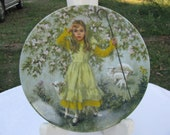 Little Bo Peep Limited Collector Plate 1983 Reco by John McClelland  5th issue in the Mother Goose Series