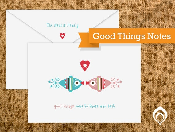 Good Things Notes (20 cards and envelopes)
