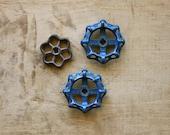 Twist It, Turn It - Vintage Valves - Water Faucet Knobs