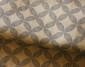 Traditional Circles (White) - Japanese Cotton Fabric