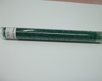 11/0 Transparent Sea Green Seed Bead 24 Grams