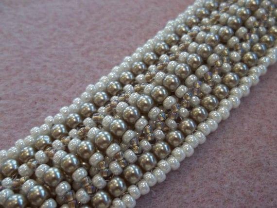 Duvet Bracelet PDF Bead Weaving Tutorial (INSTANT DOWNLOAD)