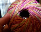 Linen Yarn Bright Summer Spring Color way (Lot of 6 Skeins) or 1