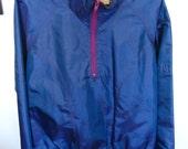 Nike Electric Blue Running Windbreaker Pullover Size M