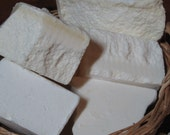 Unscented Economy Unscented Old Fashioned Soap Made with Suet Just Like Grandma's