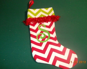 Frilly S Stocking for Christmas