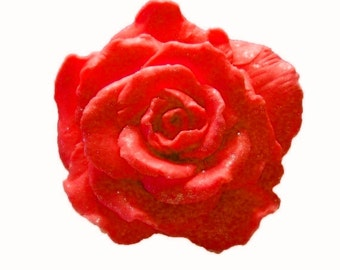 Rose Soaps - Organic Soaps - Red Roses - Glycerin Soaps  -  Vegan Soaps   -  Decorative Soaps  -  Natural Soaps  -  Choose Your Own Scent