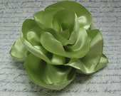 Celery Apple Green Flower Clip or Corsage Accessory - SA1