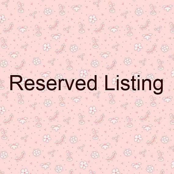 Rreserved listing for luma14