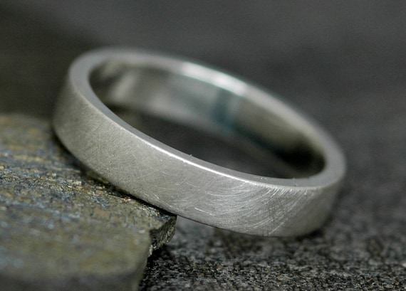 Thick Sterling Silver Band-  Custom Made