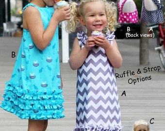 Party N Play Olive Ann Designs Pattern Sizes 2-8