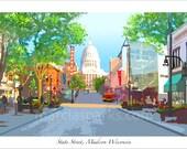 State Street, Madison Wisconsin (long version)