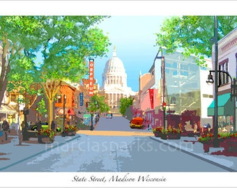State Street, Madison Wisconsin (long version)