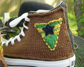 Browncoat Knit Chucks