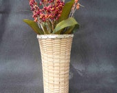 Vase (Featured Design), Nantucket Lightship Style Basket