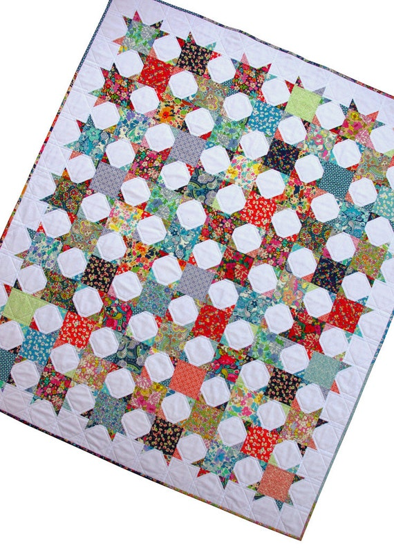 Fresh and Modern Patchwork Quilt