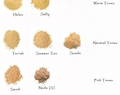 Mineral Foundation Trial Size Assortment - 3 Medium Beige Shades Zip Locks - Free Color Advice