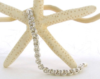 3 by 3 Chainmaille Bracelet