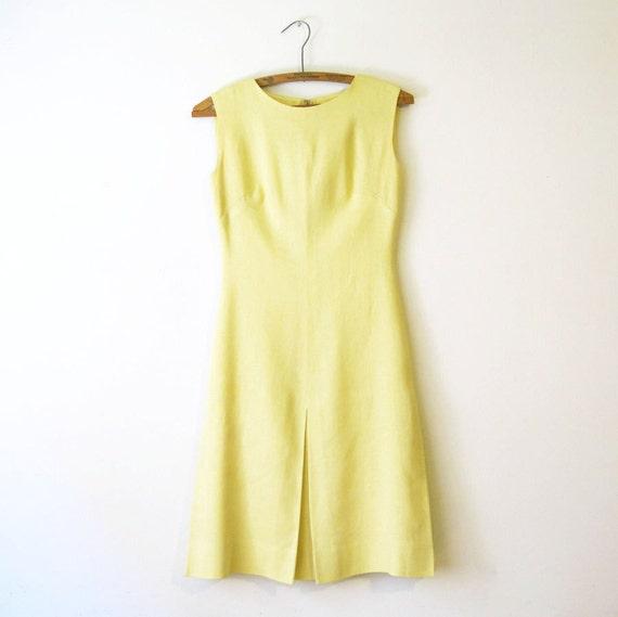Anne Fogarty Yellow Dress