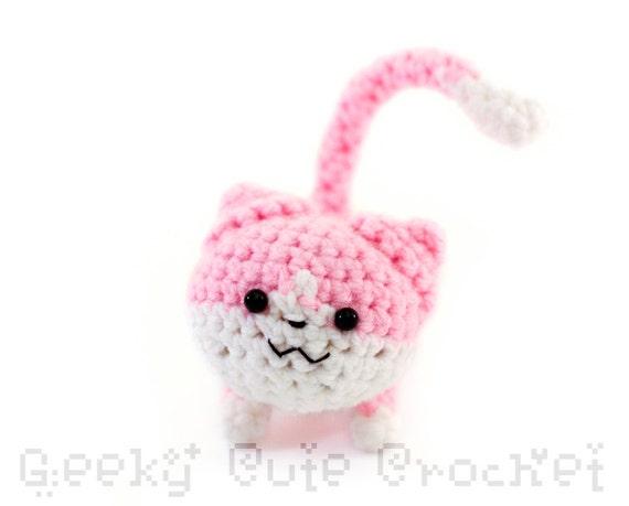 Pink Kitty Amigurumi