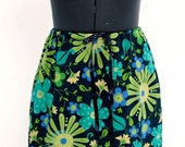 Trendy  Flowered Skirt