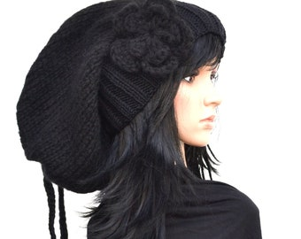 NEW COLLEKTION,Super long Chunky Hat,Virginwool