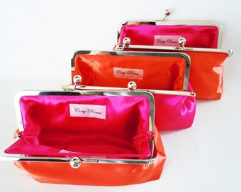 Customize Your Own Bridal Clutch Purse for Brides and Bridesmaids Gift - Wedding Favor - Discounts for Bulk Orders