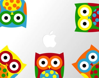 Laptop Owls Decal