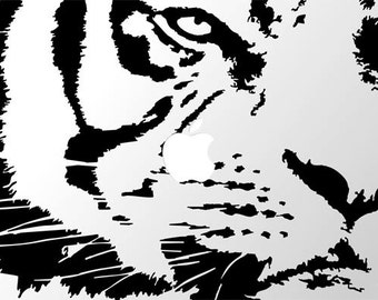 Laptop or Ipad Tiger Decal