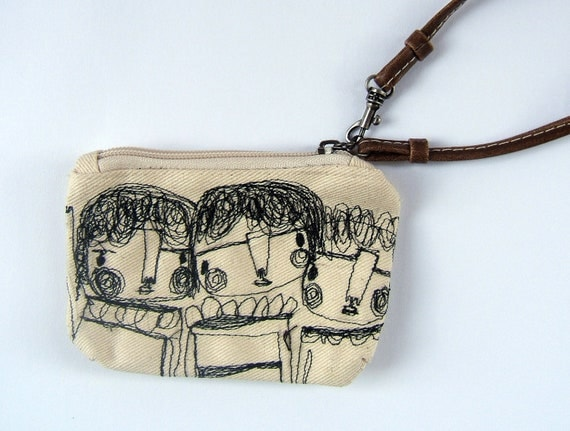 The doodle coin purse