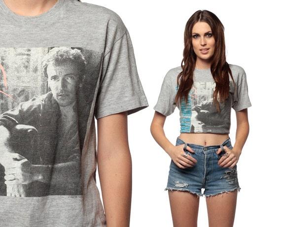 BRUCE SPRINGSTEEN TShirt 1988 Tunnel of Love Express Tour 1980s Band Tee Vintage Grey 80s Rock T Shirt Men Women Unisex Medium Large M L