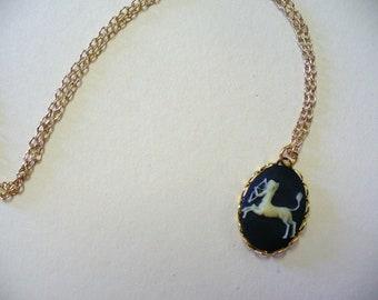 Vintage Zodiac Necklace DEADSTOCK