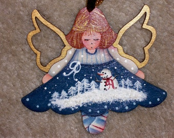 TWINKLE TOES ANGEL Ornament