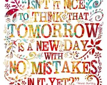 No Mistakes - PRINT