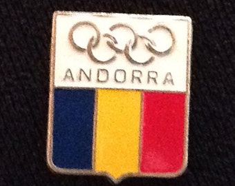 Andorra NOC Pin - Olympic Pins For Sale