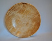 Curly Maple Salad Bowl 526 FREE SHIPPING      On hold. pending sale