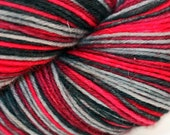 Vampire Bill - Self Striping Sock Yarn