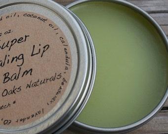 Super Healing Lip Balm, 2 oz tin