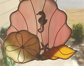 seashell suncatcher