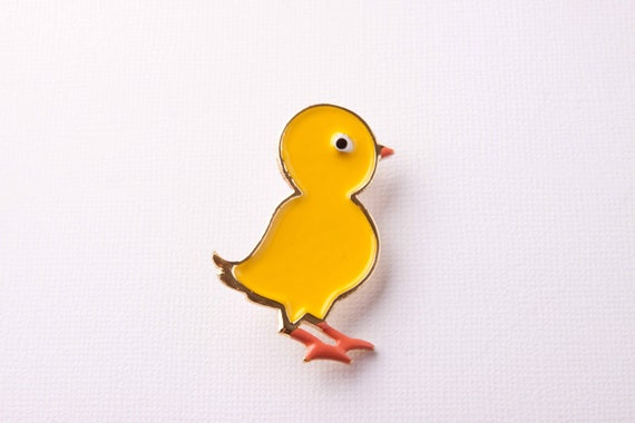 Vintage Beatrix Yellow Chick Brooch ON SALE