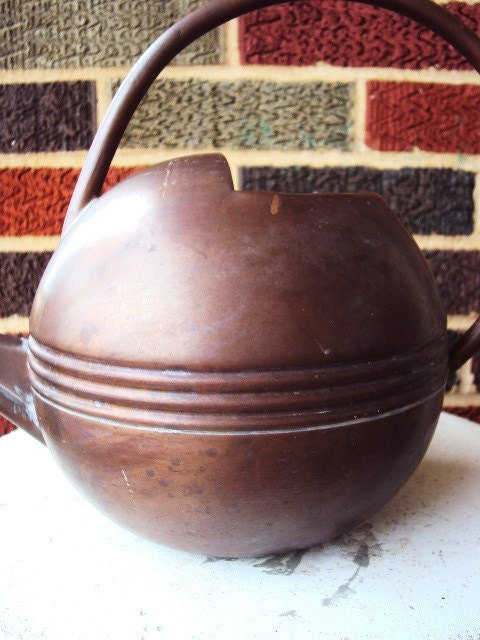 Vintage Smith Amp Hawken Copper Watering Can Made In Turkey