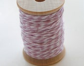 Baker's Twine - 20 Yards - Orchid - Lavender - 4 Ply Twine on Wooden Spool