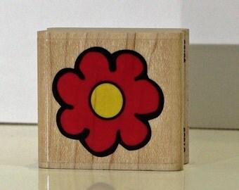 Flower Rubber Stamp
