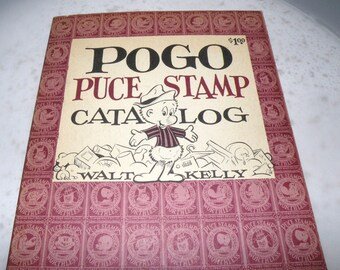 1963 POGO Puce Stamp Catalog by Walt Kelly 2nd printing