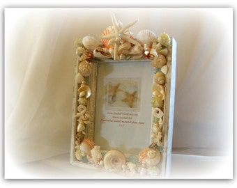 Hawaiian Sunshine Seashell Frame