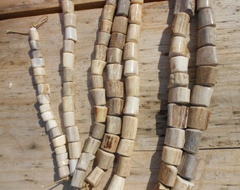 Deer Antler Beads - Your Choice of Size