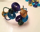 CREATE your own style - BANGIN BEAUTIES multi-color custom created cuff bracelet