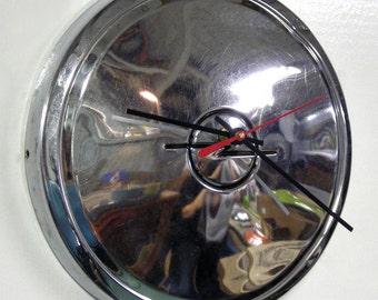 Opel Hubcap Clock - 1970 - 1975 Opel Kadett Wall Clock - 1971 1972 1973 1974