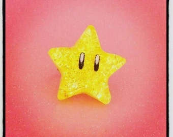 Super Mario Invincibility Star Ring (Adjustable)