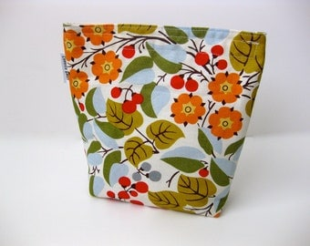 Eco Friendly Snack/Sandwich Bag With Gusset Bottom - Berry Branches